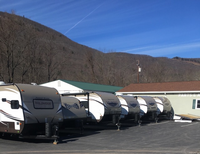 Our largest inventory of RVs EVER!!