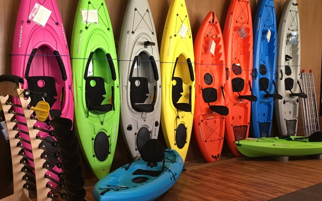 7 Kayak Models In-Stock!