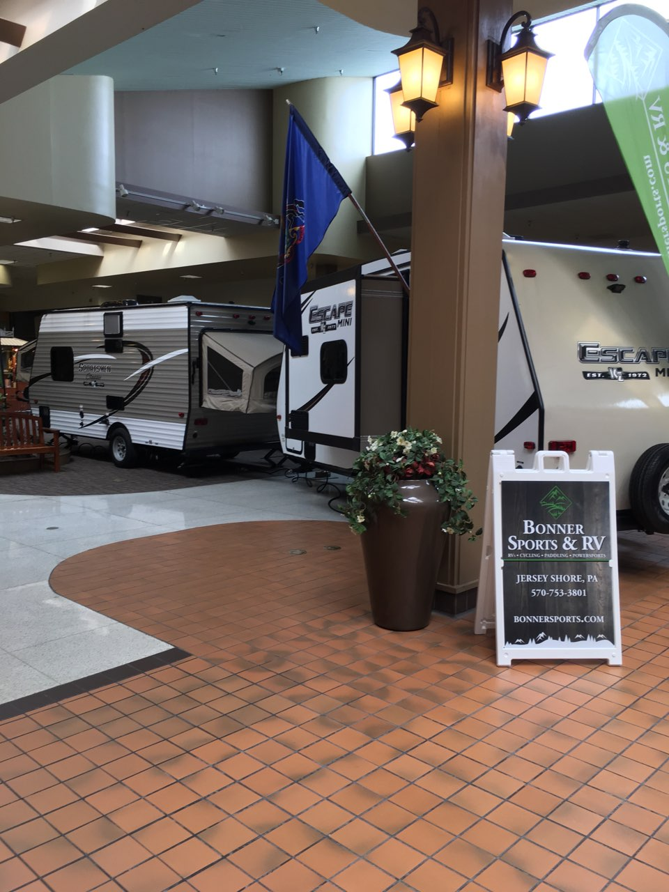 Spring Fever RV Indoor Show at the Lycoming Mall