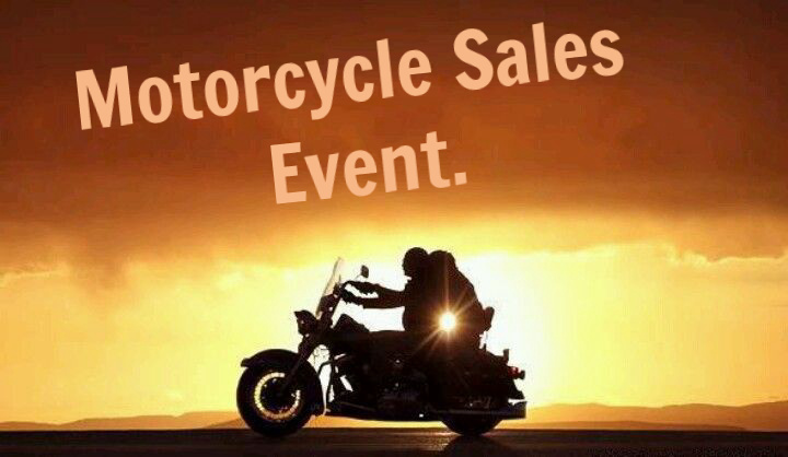 Ride off into the sunset in a pre-owned motorcycle.