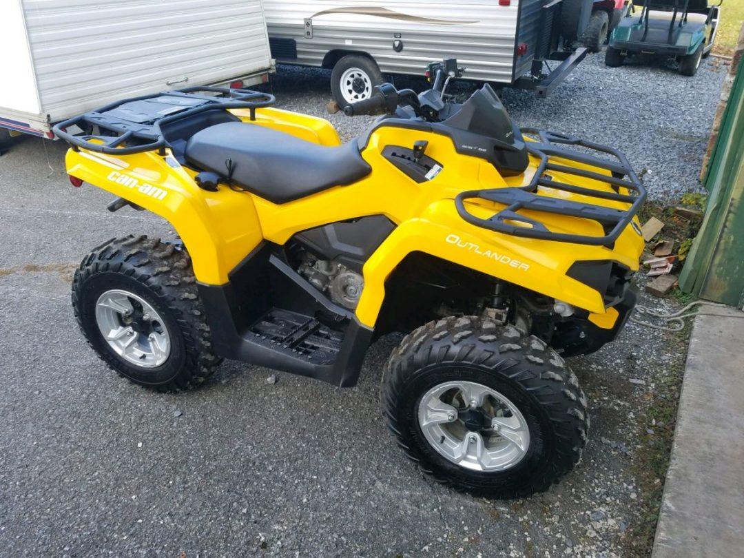 2017 Can Am Outlander 450 Price 5195