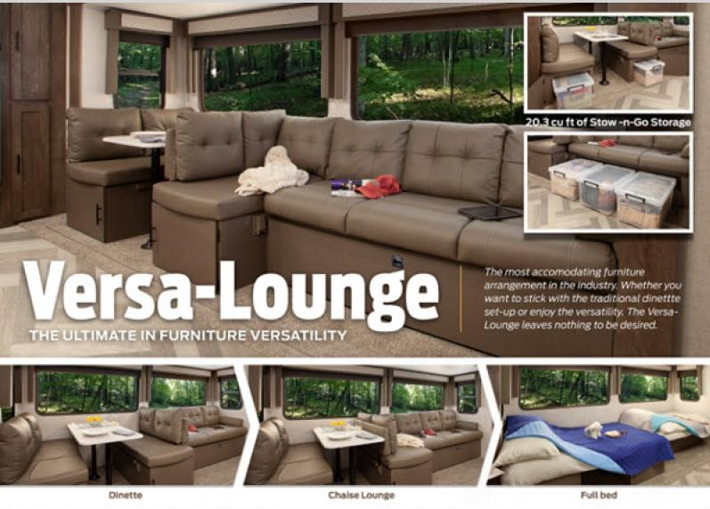 FEATURE RV:  Forest River Wildwood 29VBud With Versa Lounge!