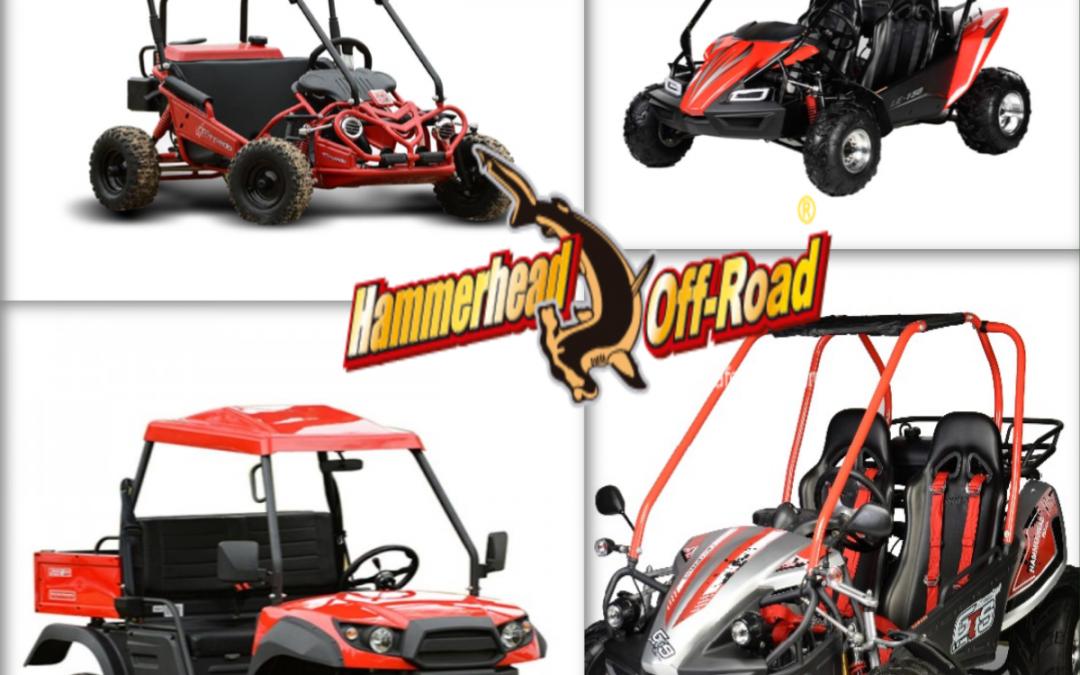 Hammerhead Go-Karts Arriving in August