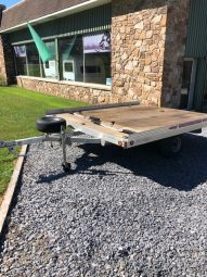 2011 Worthington 2 Place Snowmobile Trailer