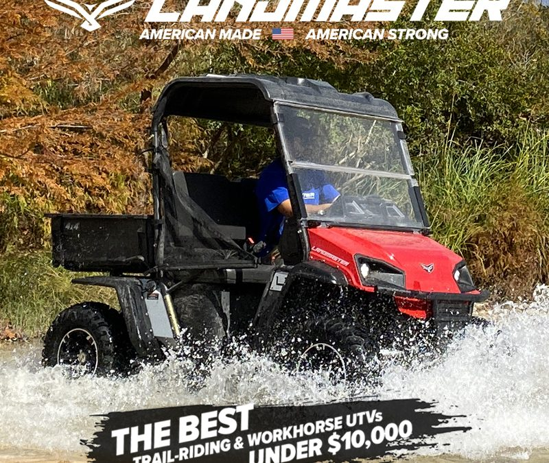 Introducing The Newly Re-designed American Landmaster UTV For 2021.