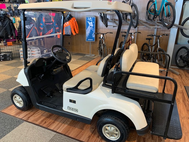 2016 EZGO RXV Gas Golf Cart with Flip Rear Seat
