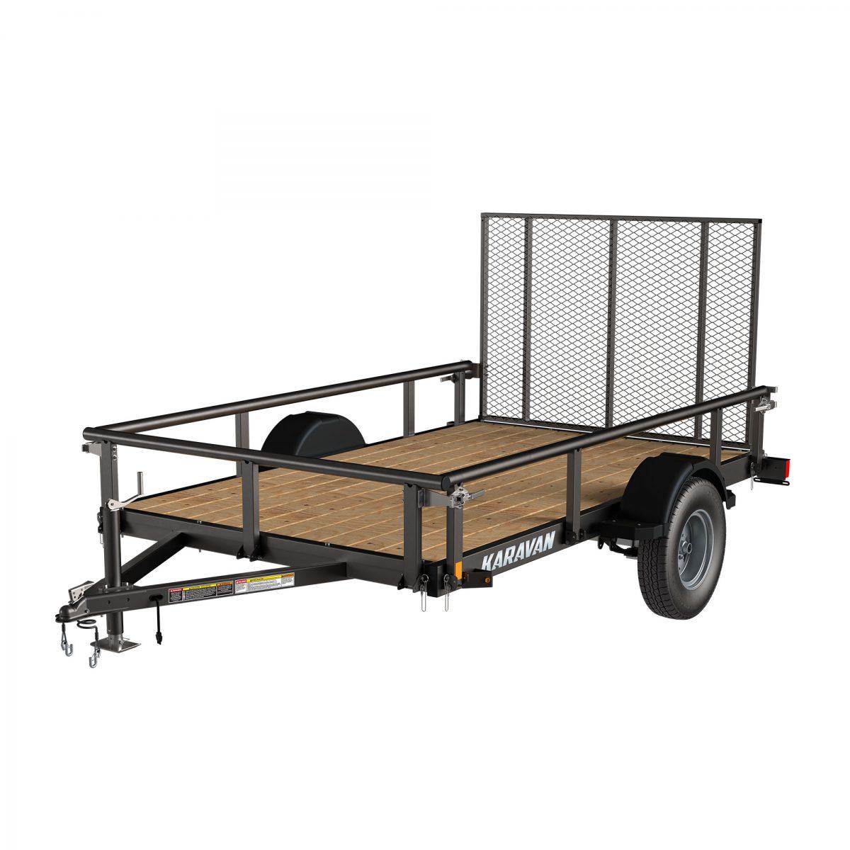 Karavan 6 X 10 FT. STEEL UTILITY TRAILER