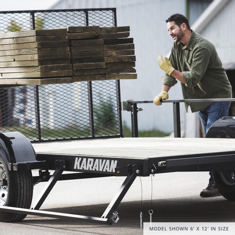 Karavan Utility Trailers In Stock!