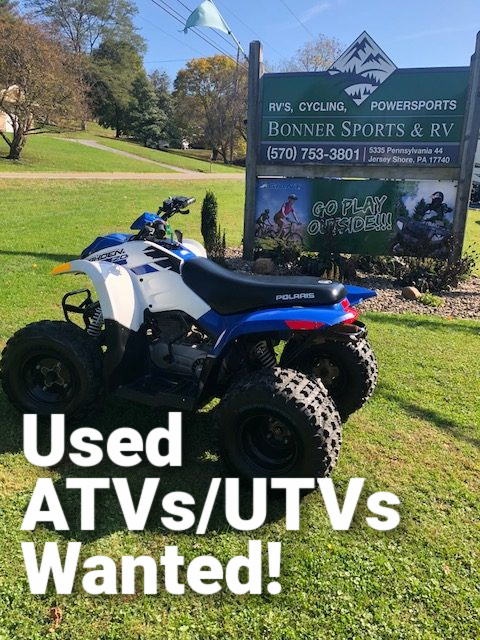 We Want To Buy Your ATV Or UTV!